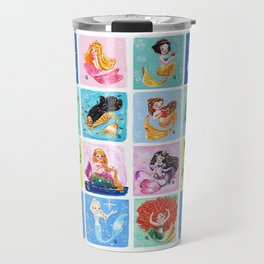 Mermaid Princesses Travel Mug