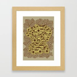 Mathematically Framed Art Print