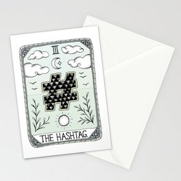 The Hashtag Stationery Cards