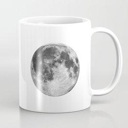 Full Moon phase print black-white monochrome new lunar eclipse poster home bedroom wall decor Coffee Mug