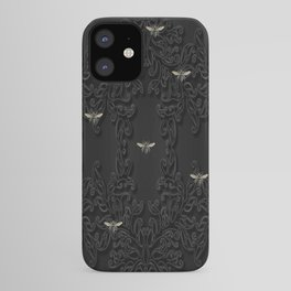 Black Bees and Lace iPhone Case