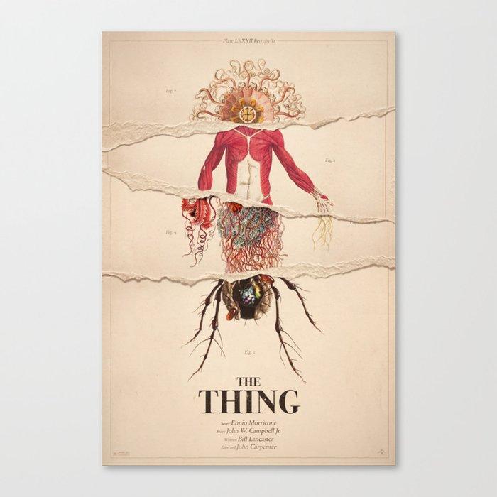 The Thing Alternative Film Poster Leinwanddruck