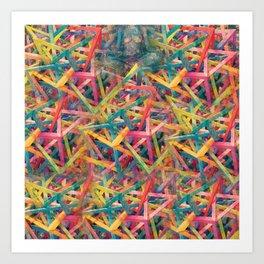 Hallucinatory Terrain Art Print