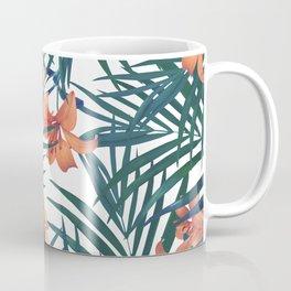 Tropical Lilies Coffee Mug