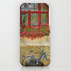 Bike At The Window iPhone 6s Slim Case