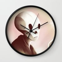 oil Wall Clocks featuring oil worshipper by Jacques Marcotte