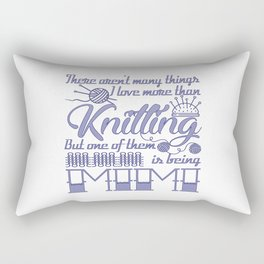 Knitting Mimi Rectangular Pillow