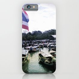 Long-Tail Harbor iPhone Case