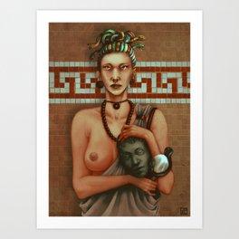 Medusa's Tears Art Print