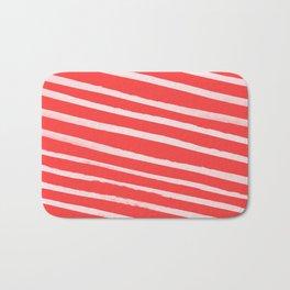 Candy Cane Bath Mat
