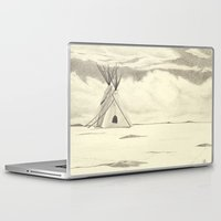 plain Laptop & iPad Skins featuring Lonely Plain by Ursula Rodgers