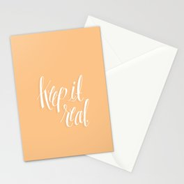 Keep It Real Stationery Cards