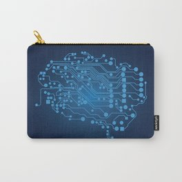 Electric brain Carry-All Pouch