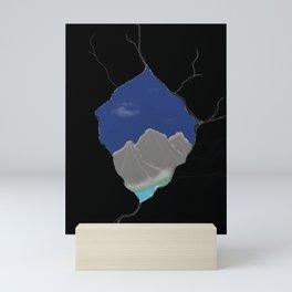 Peek a peak Mini Art Print