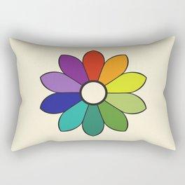 James Ward's Chromatic Circle 1903 (no background; interpretation) Rectangular Pillow