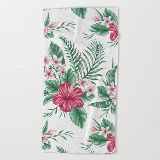 Summer pattern 1 Beach Towel
