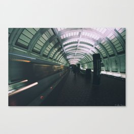 Morning Commute Canvas Print