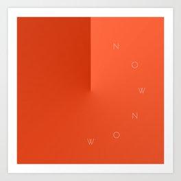 'Now Now' Art Print