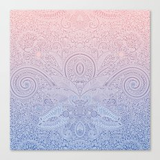 Delicate Pattern Canvas Print