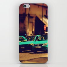 Moroccan taxi iPhone & iPod Skin