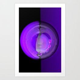 light, glass and colors -5- Art Print