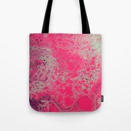 Pink Lava Tote Bag