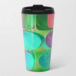 Circles & Squares Pattern 02 Travel Mug