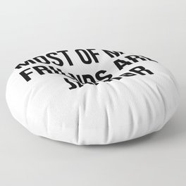 funny janitor Floor Pillow