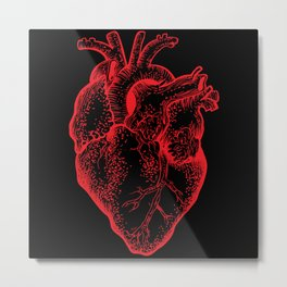 Heartless Metal Print