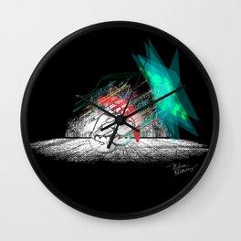 """Divine Intervention"" Wall Clock"