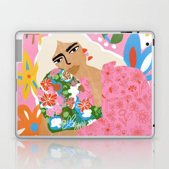Living in Chaos Laptop & iPad Skin