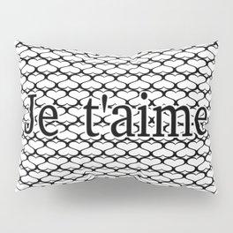 Je t'aime Pattern Pillow Sham