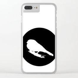 Bullfinch Clear iPhone Case