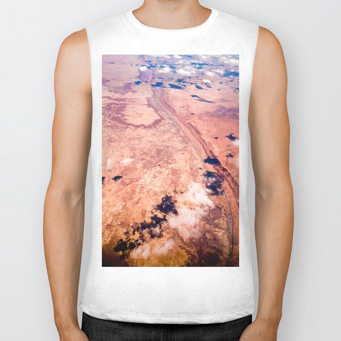 On Sky Seeing the Desert Biker Tank