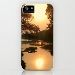 Two Suns iPhone Case