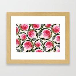 Rosas Framed Art Print