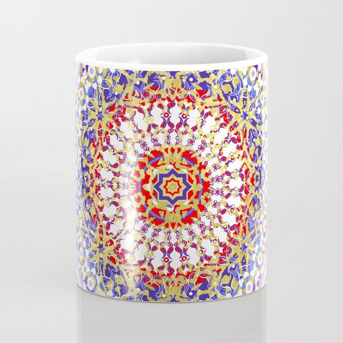 Violet Baroque Mandala Coffee Mug