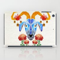 chinese iPad Cases featuring chinese goat by Manoou