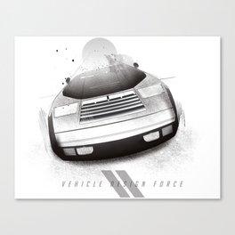 V2 Canvas Print