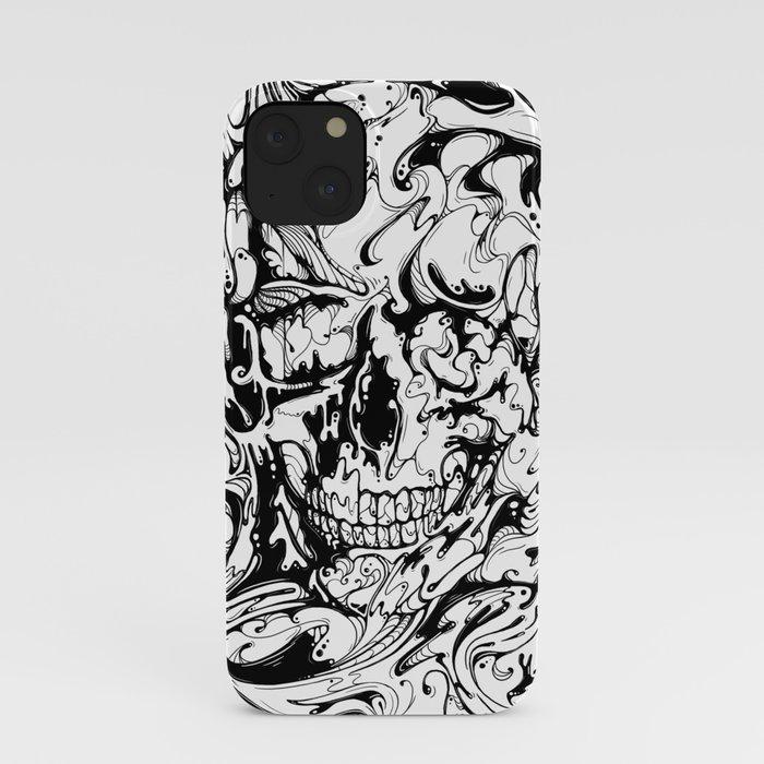 SKULL (Black & White Edition) iPhone Case