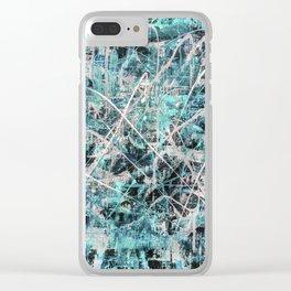 Imogene in Topaz Clear iPhone Case