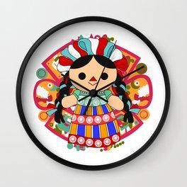 Maria 6 (Mexican Doll) Wall Clock