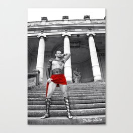Red of Rome Canvas Print