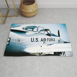 US Air Force Airplane Rug