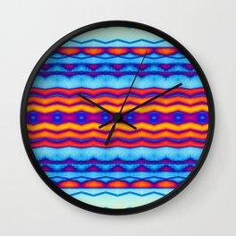 Blue OJ Chill Trip Vibe Wall Clock
