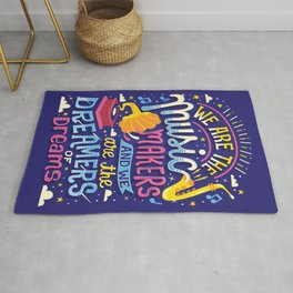 Music Makers and Dreamers Rug