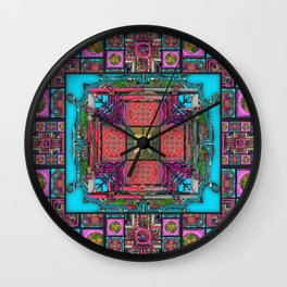 Complicated 2 Wall Clock