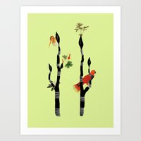 waiting for another day Art Print