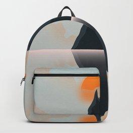 Landscape. Backpack