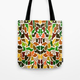 Autumn Camouflage Tote Bag